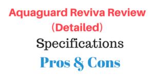 Aquaguard Reviva review
